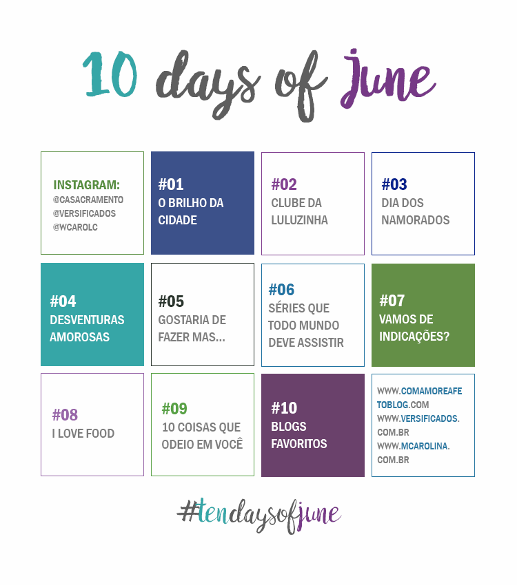 Ten Days of June - Divulgação